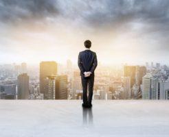 大都会を眺める投資家・起業家